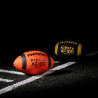 Balón de fútbol americano Junior Naranja/Negro