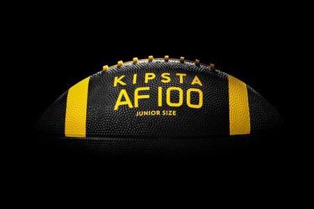 Balón de fútbol americano Júnior Negro/Amarillo