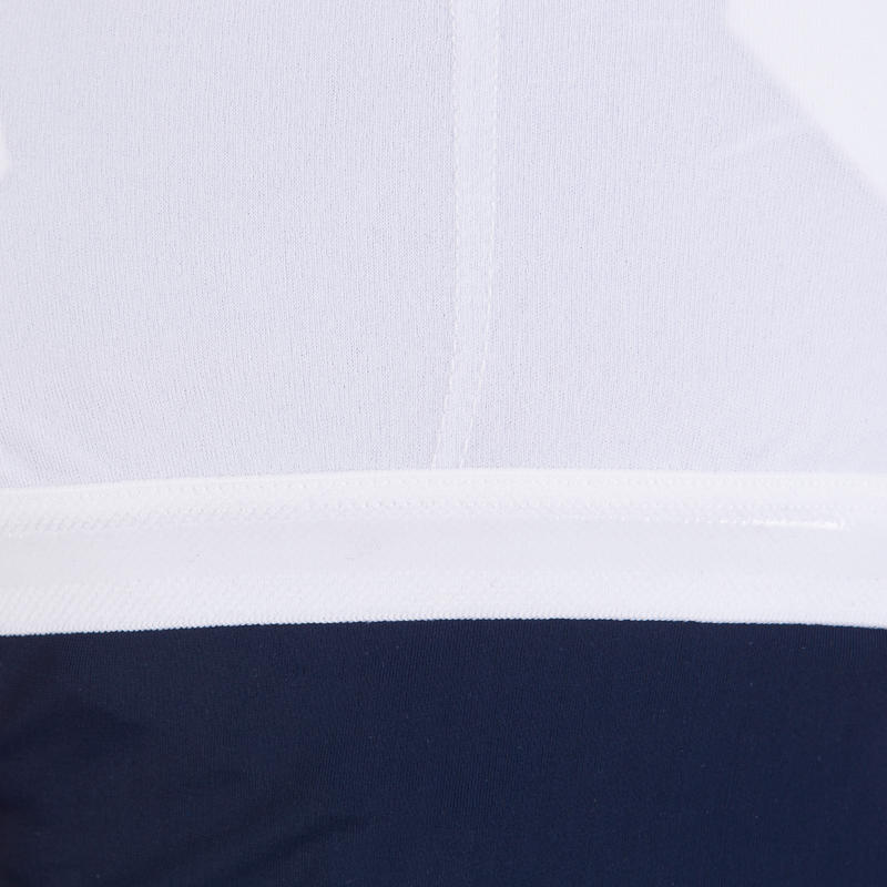 Loran women's one-piece legsuit swimsuit - Blue