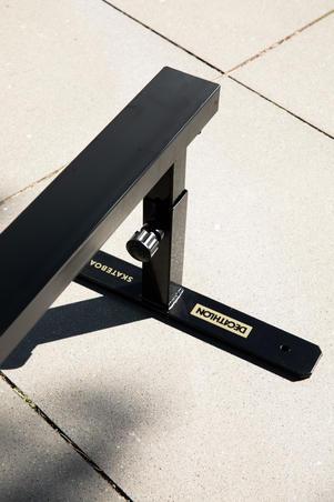 BARRE DE SLIDE / GRIND POUR SKATEBOARD REGLABLE ET CONNECTABLE COULEUR NOIRE