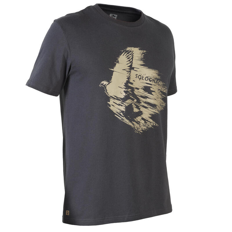 T-shirt manches courtes chasse 100 Pigeons