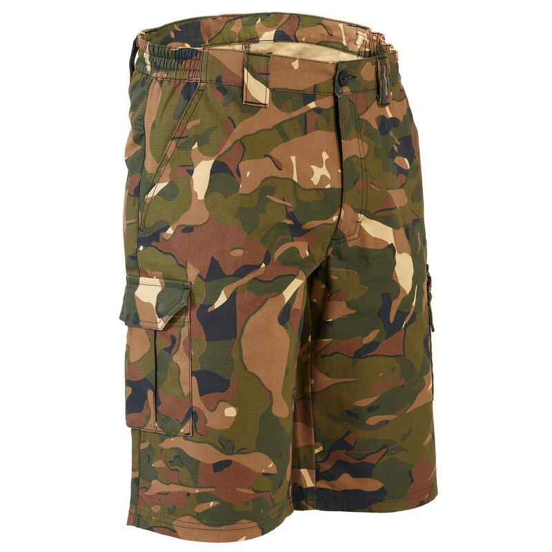 Bermuda 500 V1 - woodland camouflage green and brown