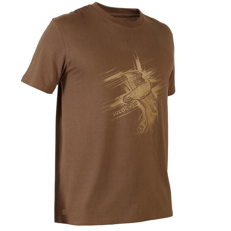 T-shirt met korte mouwen voor de jacht 100 snip
