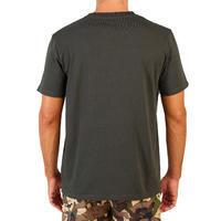 Short-sleeved hunting T-shirt 100 - dark green
