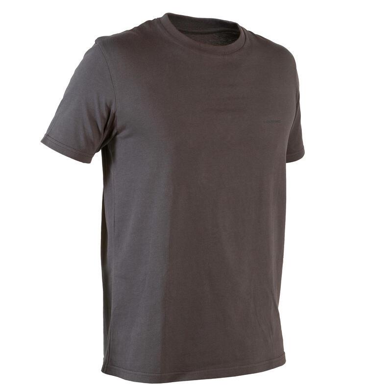 Lovecké tričko 100 tmavě šedé