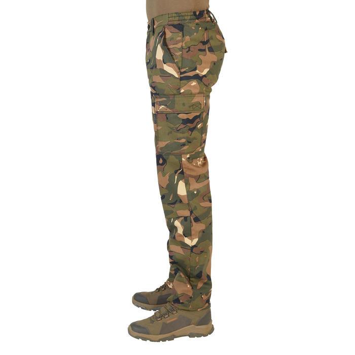 Calças de caça Camufladas e Resistentes 300 Camuflado Verde