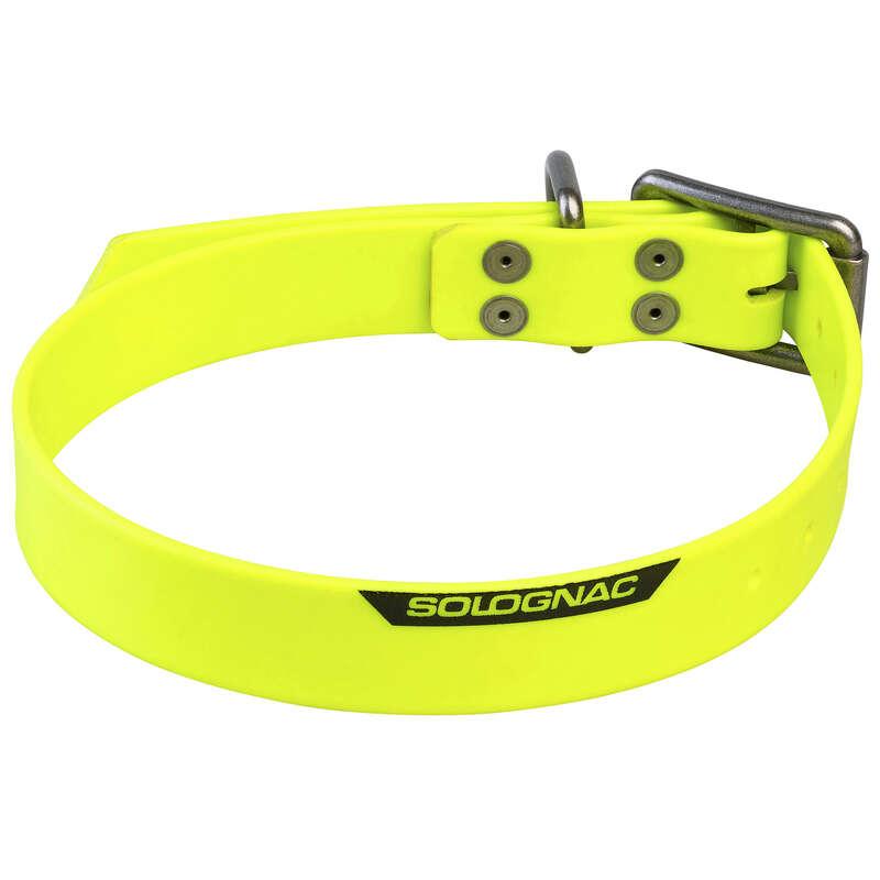 Hundezubehör Jagd und Sportschiessen - Hundehalsband 900 gelb SOLOGNAC - Alles für den Hund