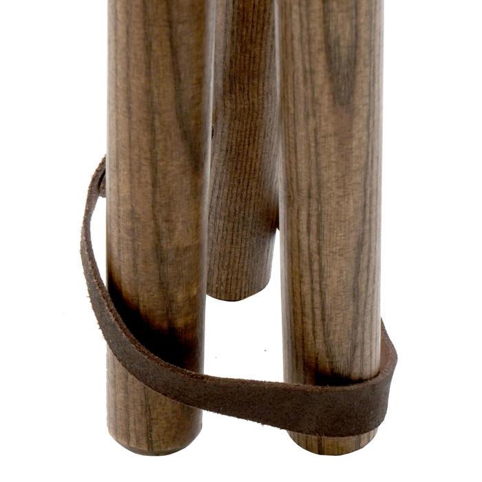 Hoog driepootkrukje 500 hout
