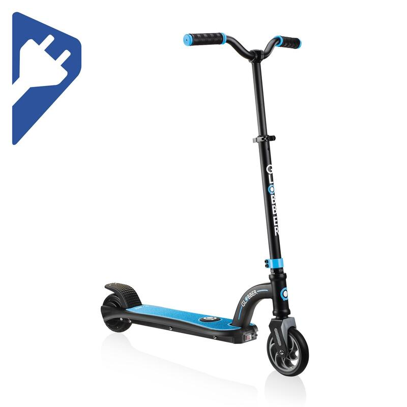 Trottinette électrique Globber E10 noir et bleu