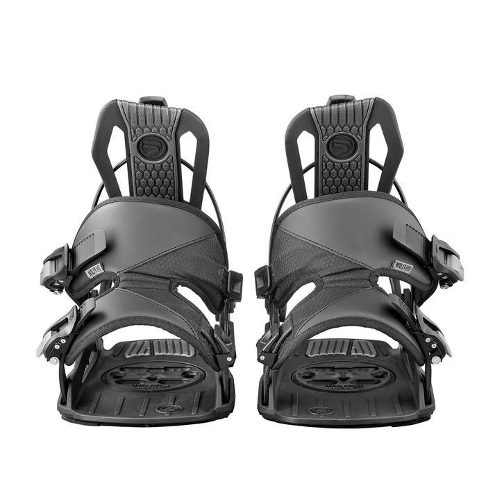 Snowboardbindung Nexus Herren/Damen schwarz
