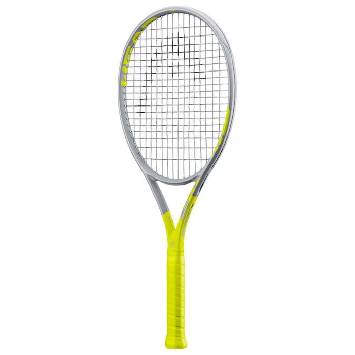 Raquette de tennis adulte Graphene 360 Extreme MP Gris Jaune
