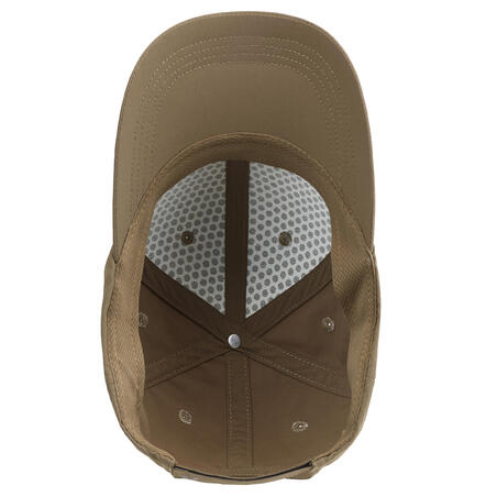 Topi berburu yang ringan dan mampu melepas uap keringat 500 - Beige