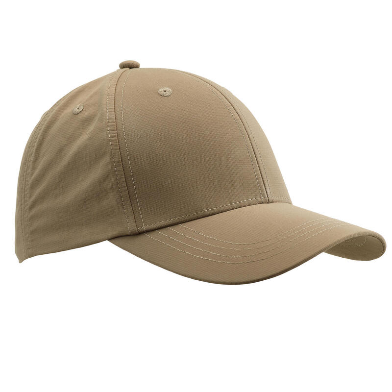 Lightweight and breathable hunting cap 500 - Beige