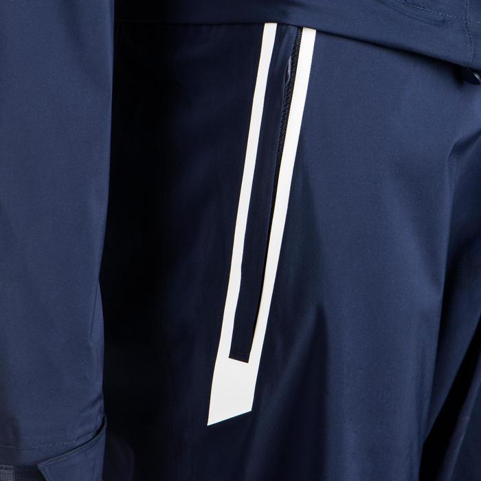 Pantalon de golf de pluie imperméable enfant RW500 bleu marine