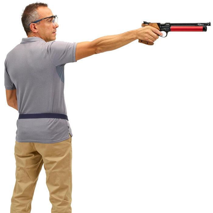 Montuur voor schieten op doel met oogafdekking en glashouder: Shooting Frame 100