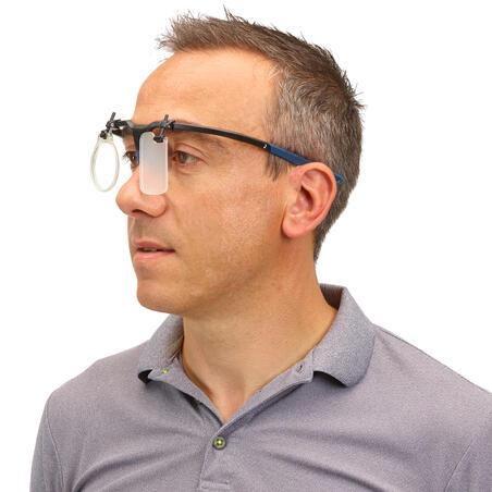 Shooting Frame with Eye Shield & Lens Holder: Shooting Frame 100 - blue