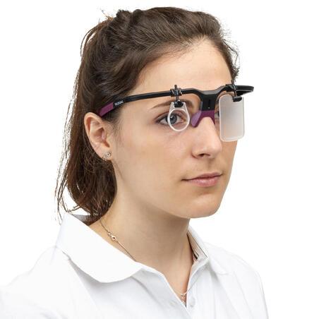 Shooting Frame with Eye Shield & Lens Holder: Shooting Frame 100 - plum