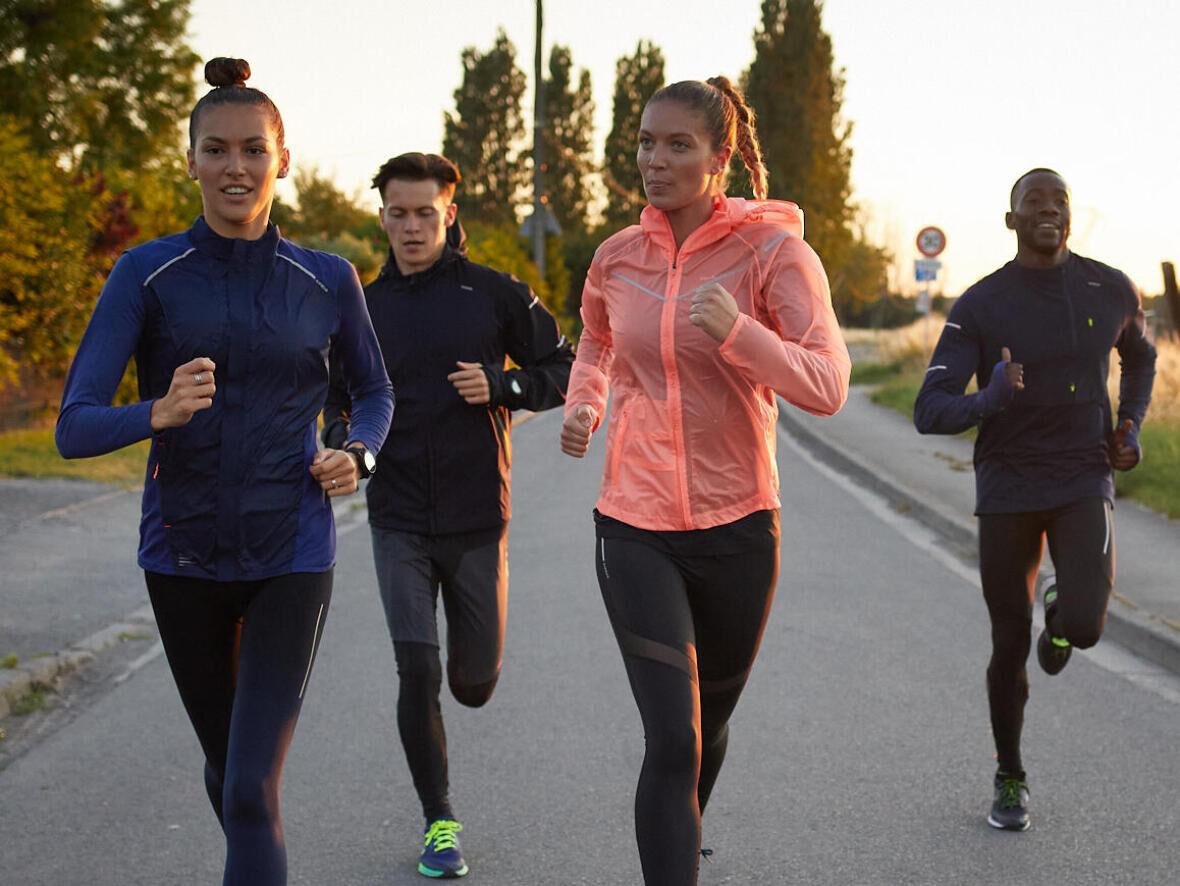Sport à tester sous la pluie : le jogging ou le running