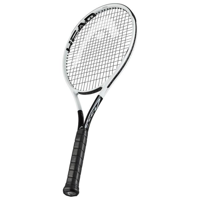 Tennisracket voor volwassenen Graphene 360 Extreme S grijs/geel