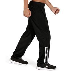 Pantalon Fitness garçon DJENI noir