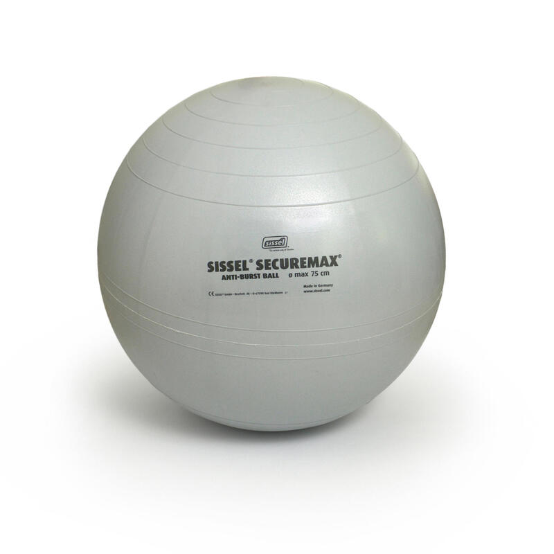 Fitball Pelota Pilates Sissel Talla 3 - 75 cm Gris