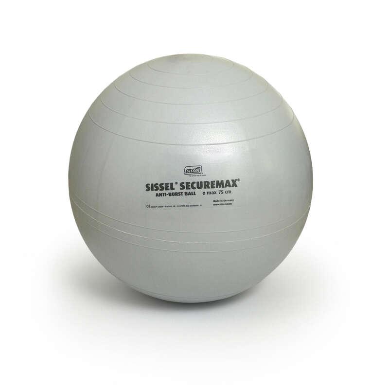 MATTOR FÖR GYM, PILATES Pilates - Pilatesboll SISSEL 75 cm grå SISSEL - Pilates Utrustning
