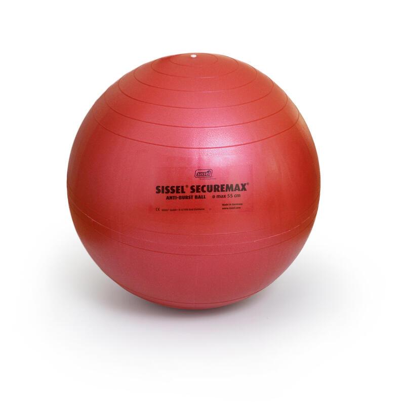 Fitball Pelota Pilates Sissel Talla 1 - 55 cm Rojo