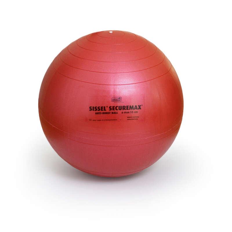 SMÅUTRUSTNING FÖR GYMNASTIK, PILATES Pilates - Pilatesboll SISSEL röd SISSEL - Pilates