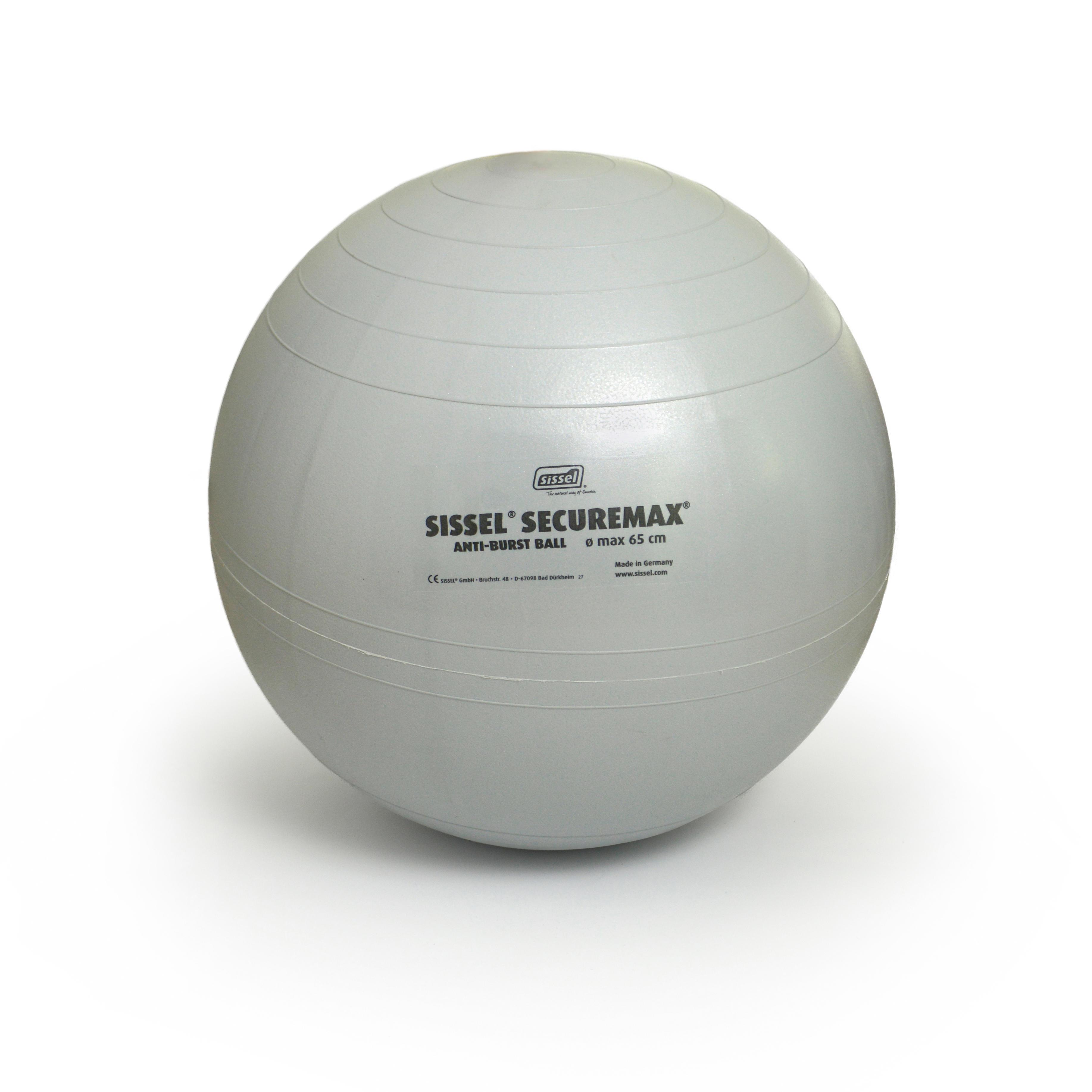 Minge gym ball SISSEL 65cm Gri imagine
