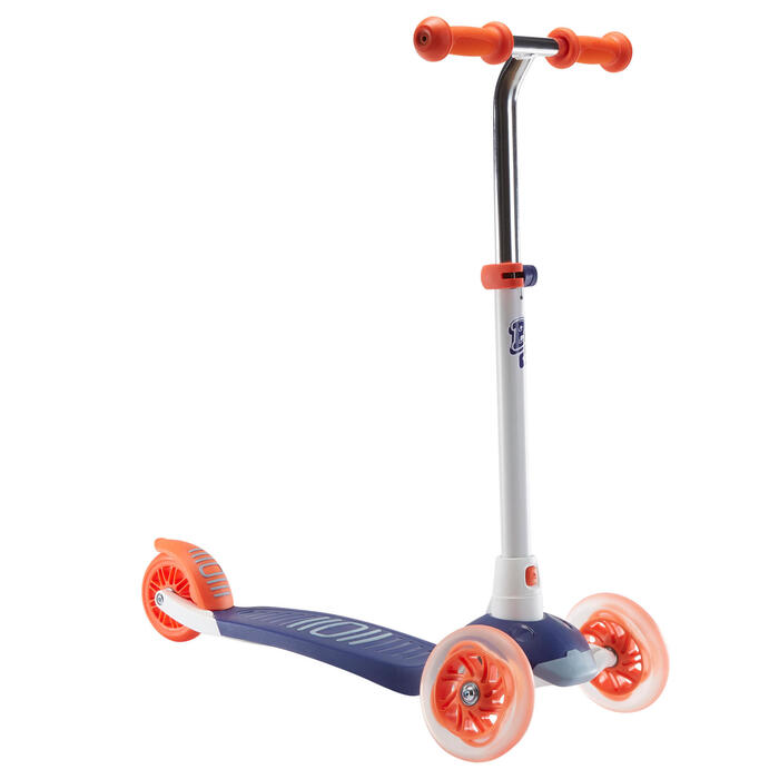 TROTTINETTE ENFANT B1 500 BLEUE ROUGE v2