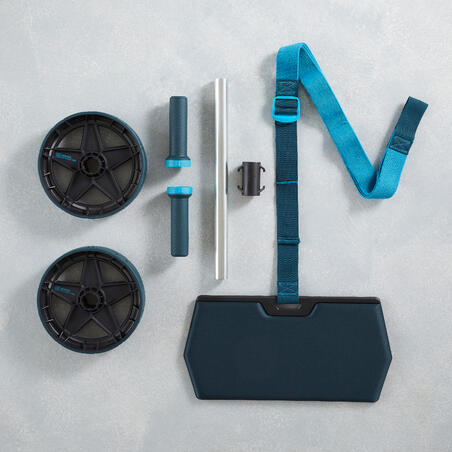 Evolving Ab Wheel with Mat