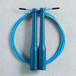 Corde à sauter de vitesse bleue