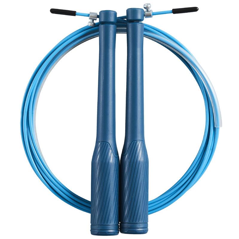 Corda per saltare veloce azzurra
