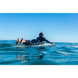 Leash surf longboard 9' (275 cm ) diamètre 7 mm noir