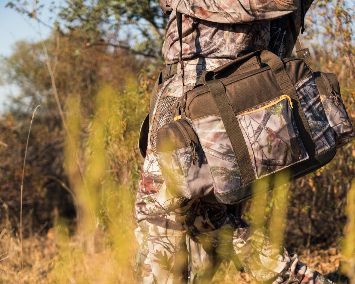 Un sac pour transporter jusqu'à 250 cartouches