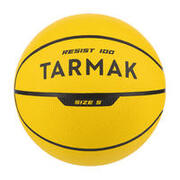 Beginners' Size 5 (Up to 10 Years Old) Basketball R100 - Yellow