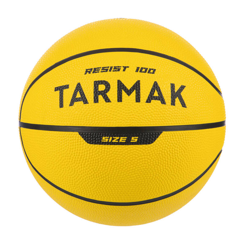 BASKETBALOVÉ MÍČE Basketbal - BASKETBALOVÝ MÍČ R100 VEL. 5  TARMAK - Basketbalové míče