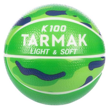 Bola Busa K100.Bola Basket Mini Anak dari Busa Ukuran 1 (Sampai Usia 4 tahun)