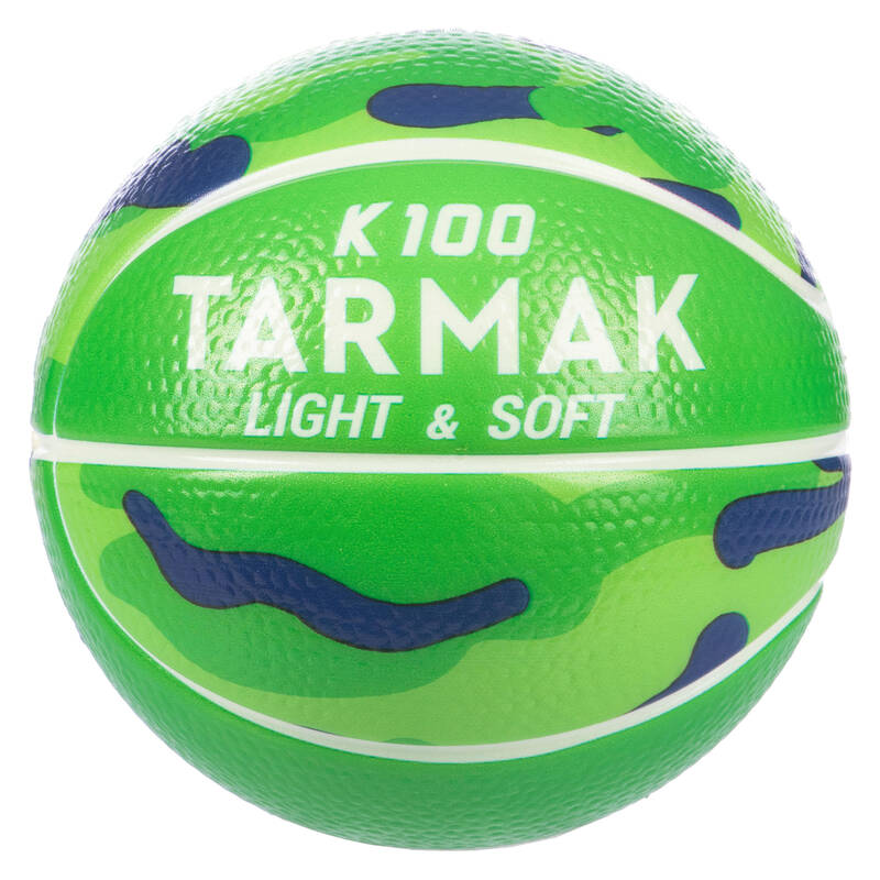 ZAČÁTKY S BASKETBALEM Basketbal - MÍČ K100 LIGHT & SOFT TARMAK - Basketbalové míče