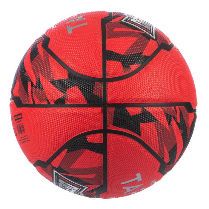 Basketball R500 Größe 7 ab 13 Jahren rot