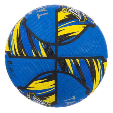 Balón de básquetbol niños R500 talla 5 azul, hasta 10 años para iniciarse