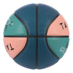Basketball BT500 Größe 6 rosa/grün