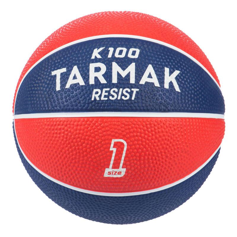 Mini Balón de Baloncesto Talla 1 Rojo azul