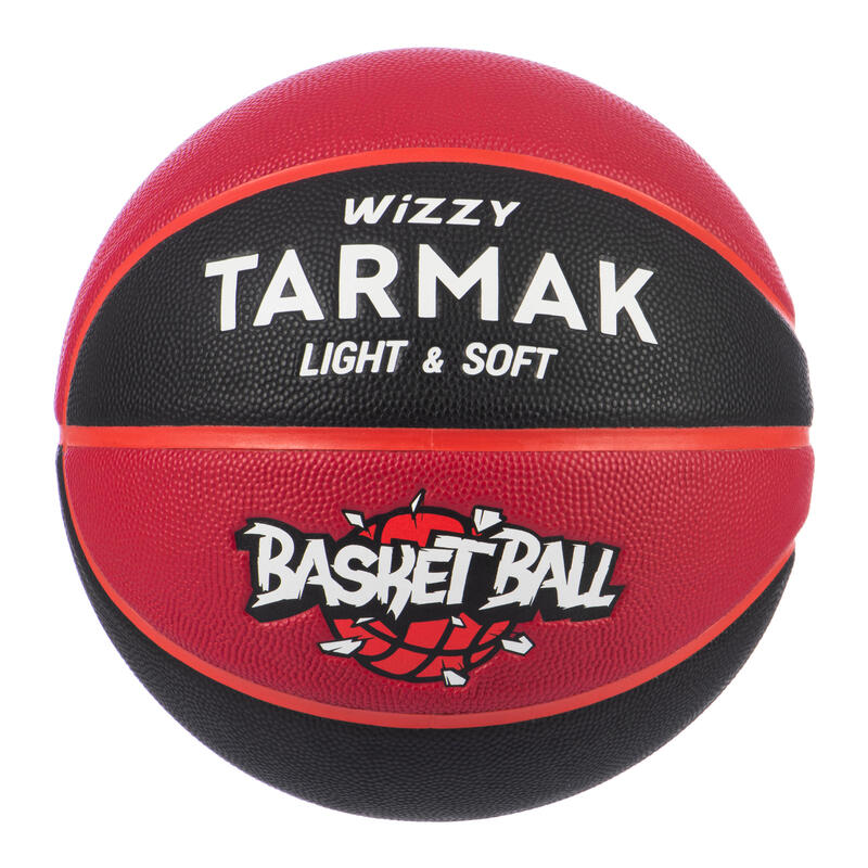 Basketbol Topu - 5 Numara - Siyah / Bordo - Wizzy