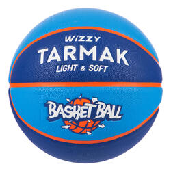 Wizzy Kids' Size 5 (Up to 10 Years) Basketball 18% Lighter - Blue
