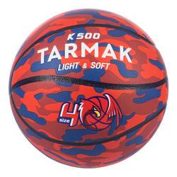 Bola de Basquetebol Criança Nível Principiante K500 Aniball Vermelho/Azul