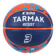 Kids' Size 3 Basketball K500 - BlueFor children up to age 6.