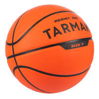 Ballon de basket adulte R100 taille 7 orange pour enfant et adulte.
