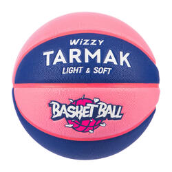Kids' Size 5 (Up to 10 Years) Basketball Wizzy - Blue/Pink.
