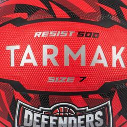 Ballon de basket homme R500 T7 7 Rouge à partir de 13 ans pour débuter.